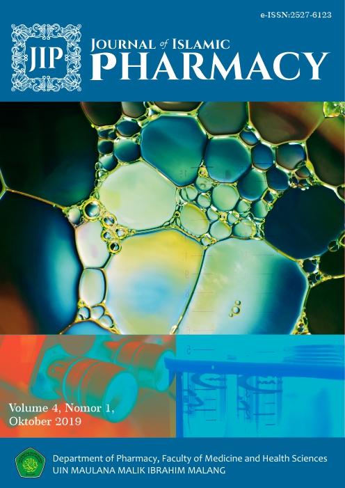 Journal of Islamic Pharmacy Logo